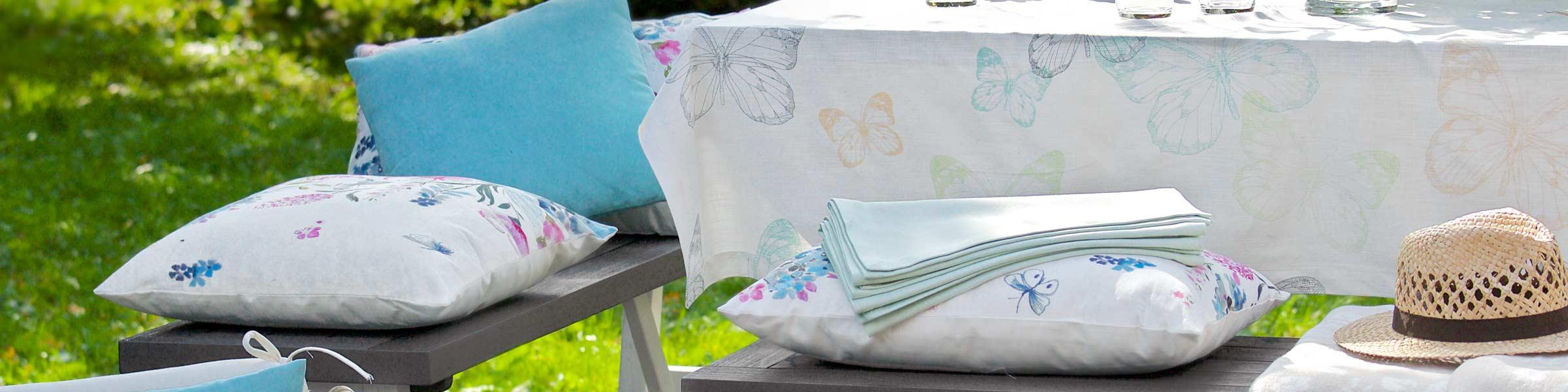 sitzauflagen f r gartenm bel online kaufen dehner. Black Bedroom Furniture Sets. Home Design Ideas